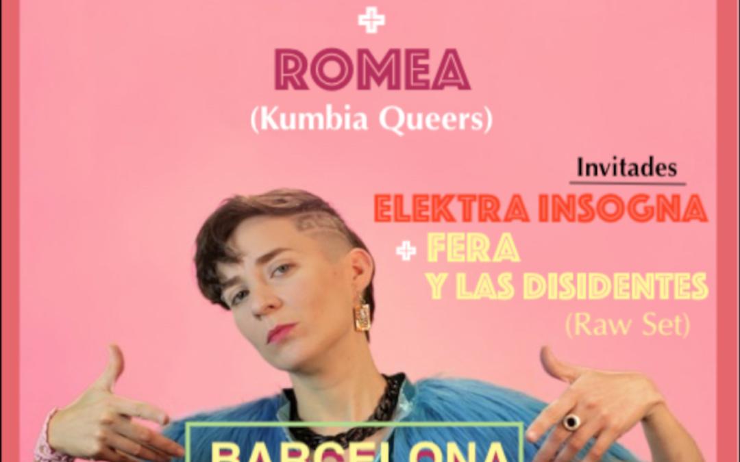 CHOCOLATE REMIX + Romea (Kumbia Queers) + Elektra Insogna + Fera y las Disidentes